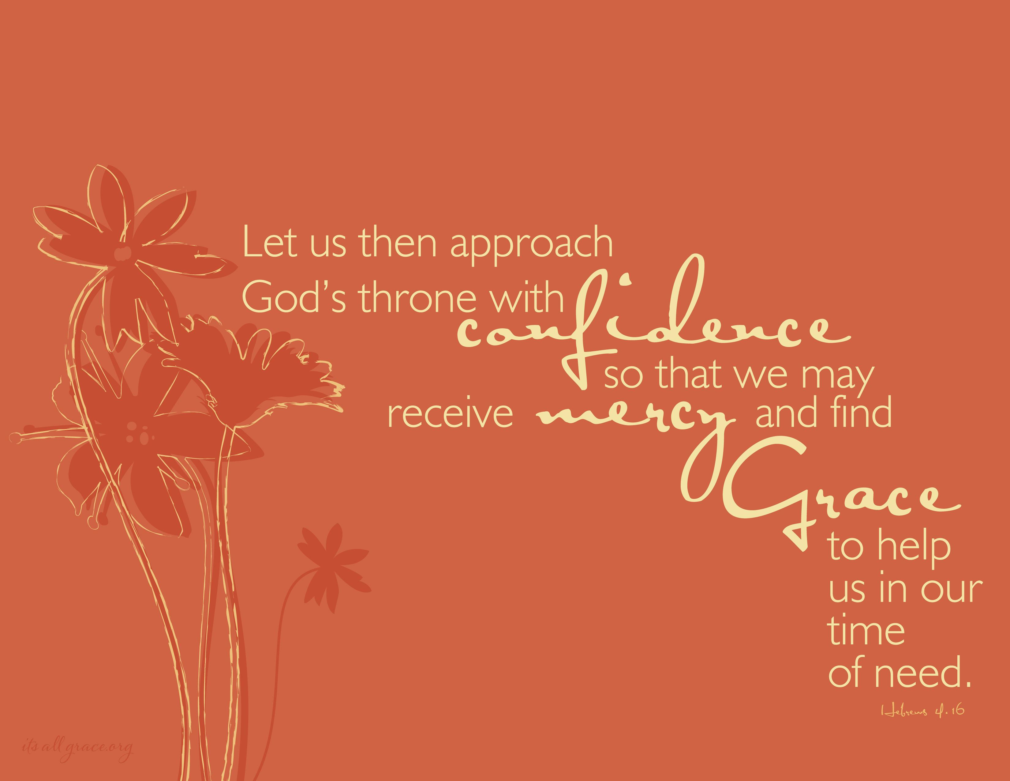 Hebrews 4:16 | Jamy Whitaker