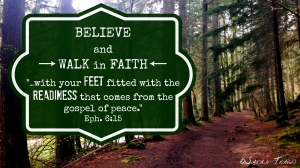 Feet to prayer